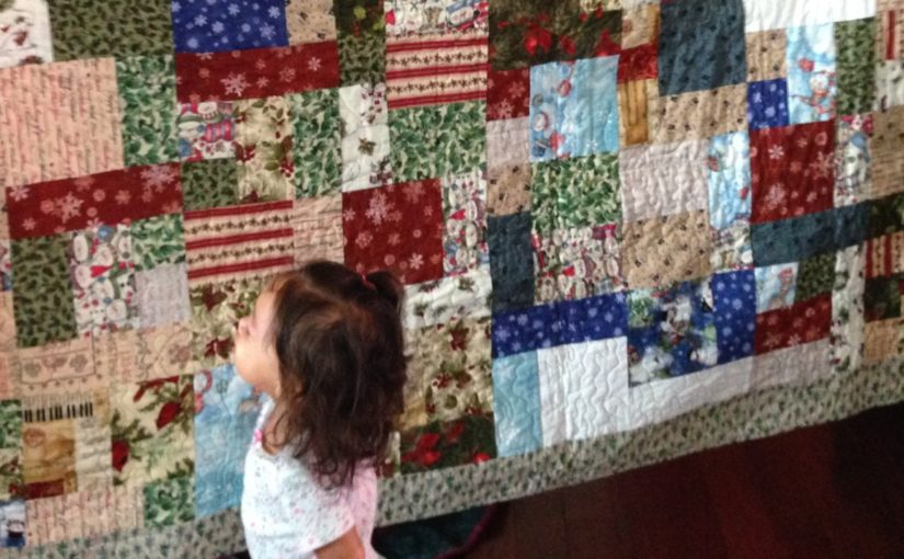Win an AMAZING Christmas Quilt!